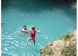Turner Taxis and Tours to Ocho Rios Blue hole From Montego Bay.